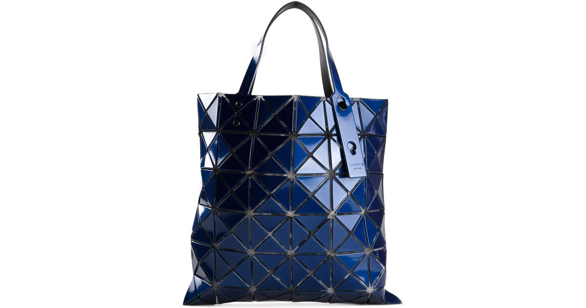 dd4892ce9a Lyst - Bao Bao Issey Miyake Prism Tote in Blue