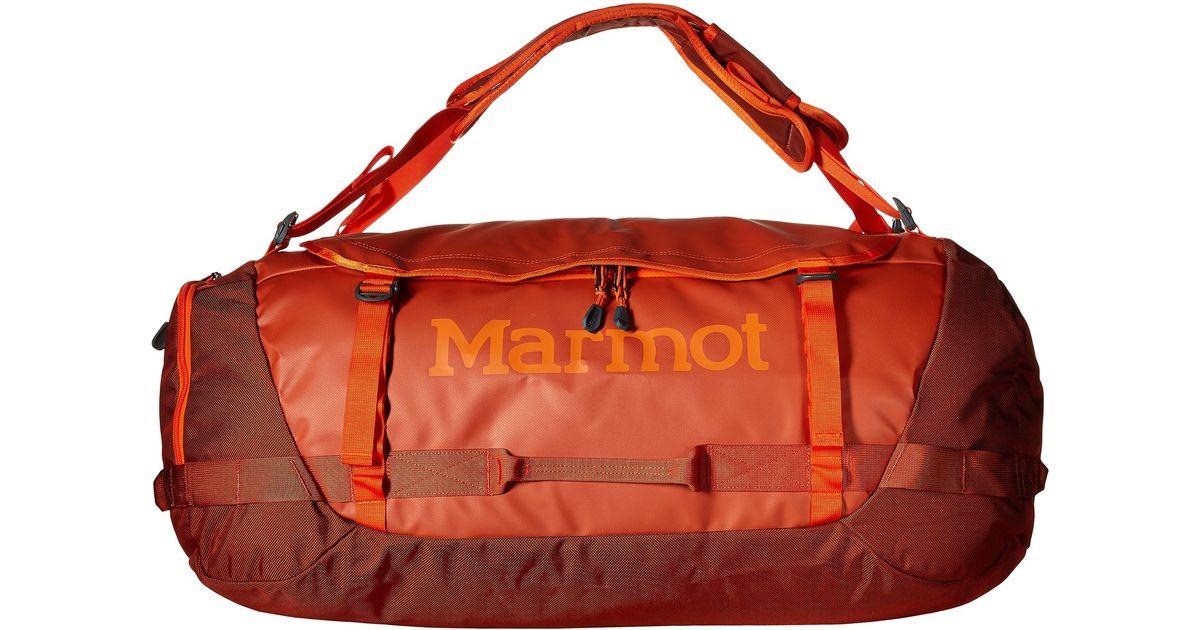 368adf848fa5 Lyst - Marmot Long Hauler Duffle Bag Large in Brown for Men