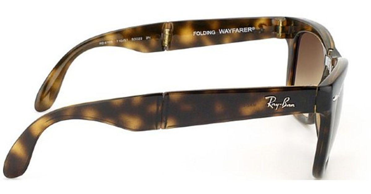 11a5be8fc63 Ray Ban 4105 Brown Gradient Aviators Glasses « Heritage Malta