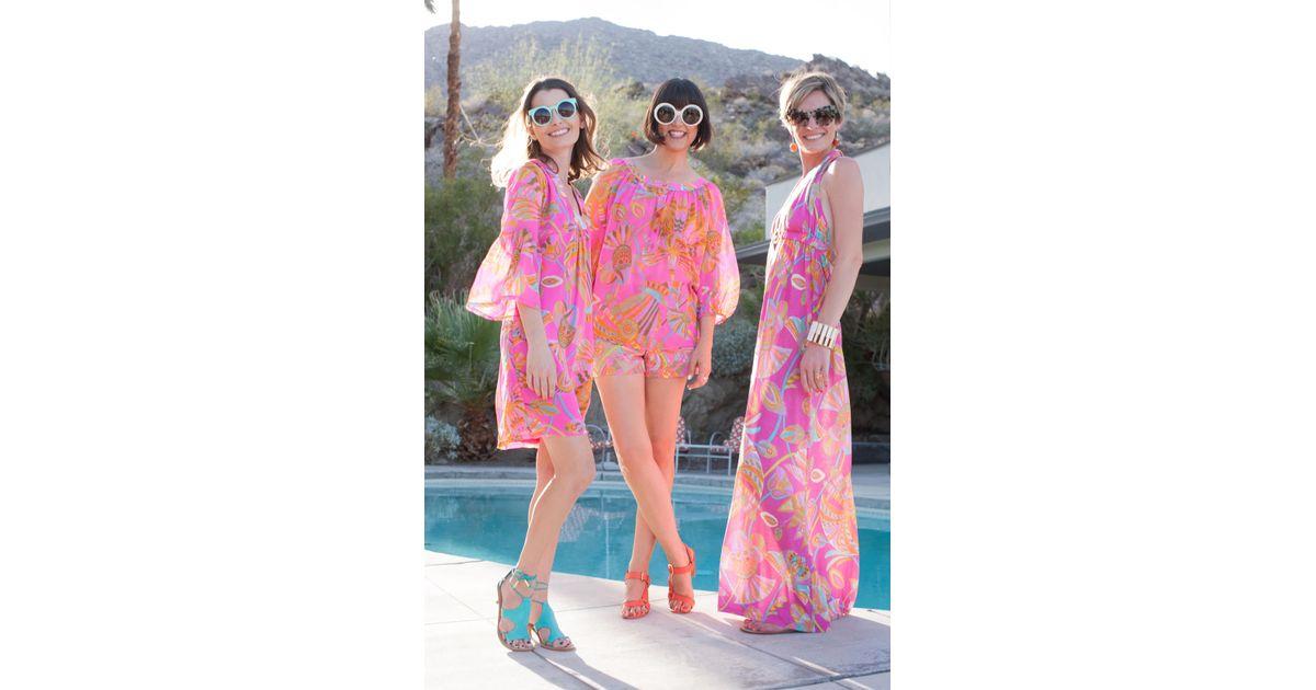1733ed1fcc Lyst - Trina Turk Bonita Dress in Pink