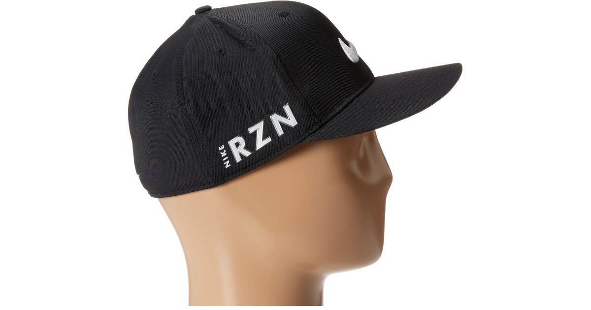 Lyst - Nike Flat Bill Tour Cap in Black for Men e95cdf18002