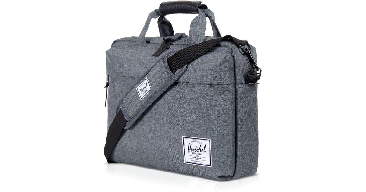 Lyst - Herschel Supply Co. Clark Messenger Bag in Gray for Men 780f1b58beb8a