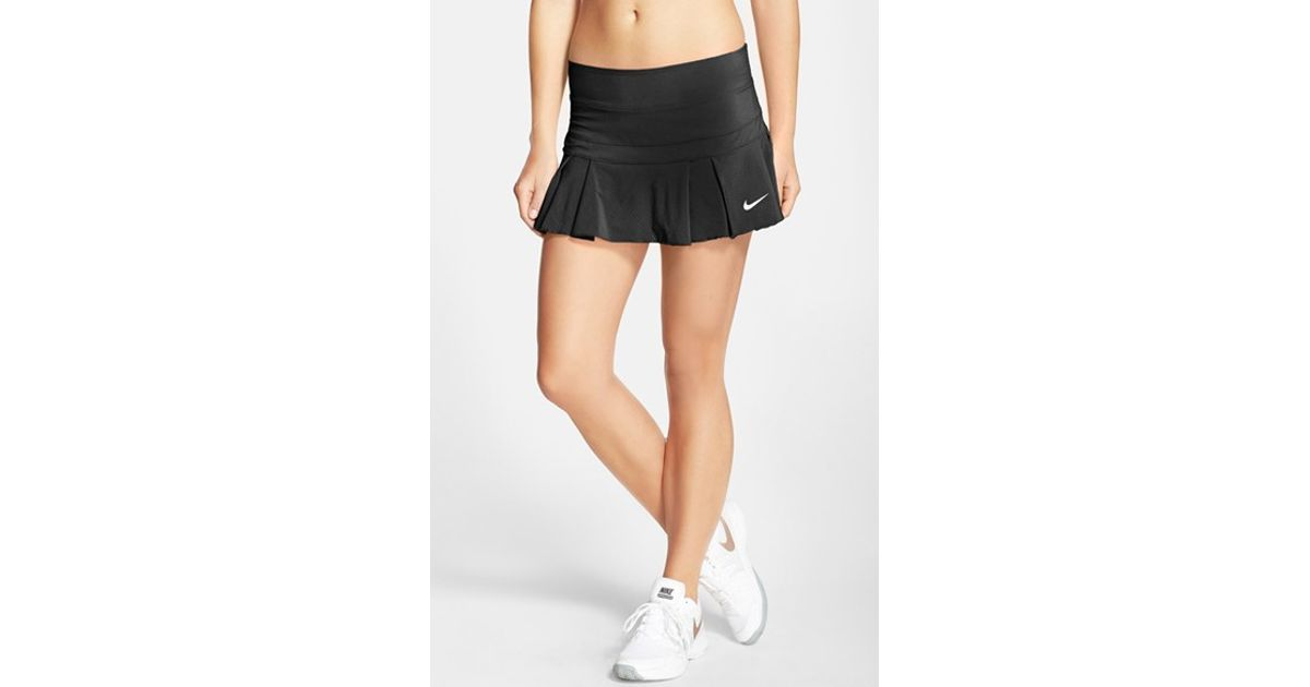 80589d8d8e Nike 'victory - Breathe' Dri-fit Tennis Skirt in Black - Lyst
