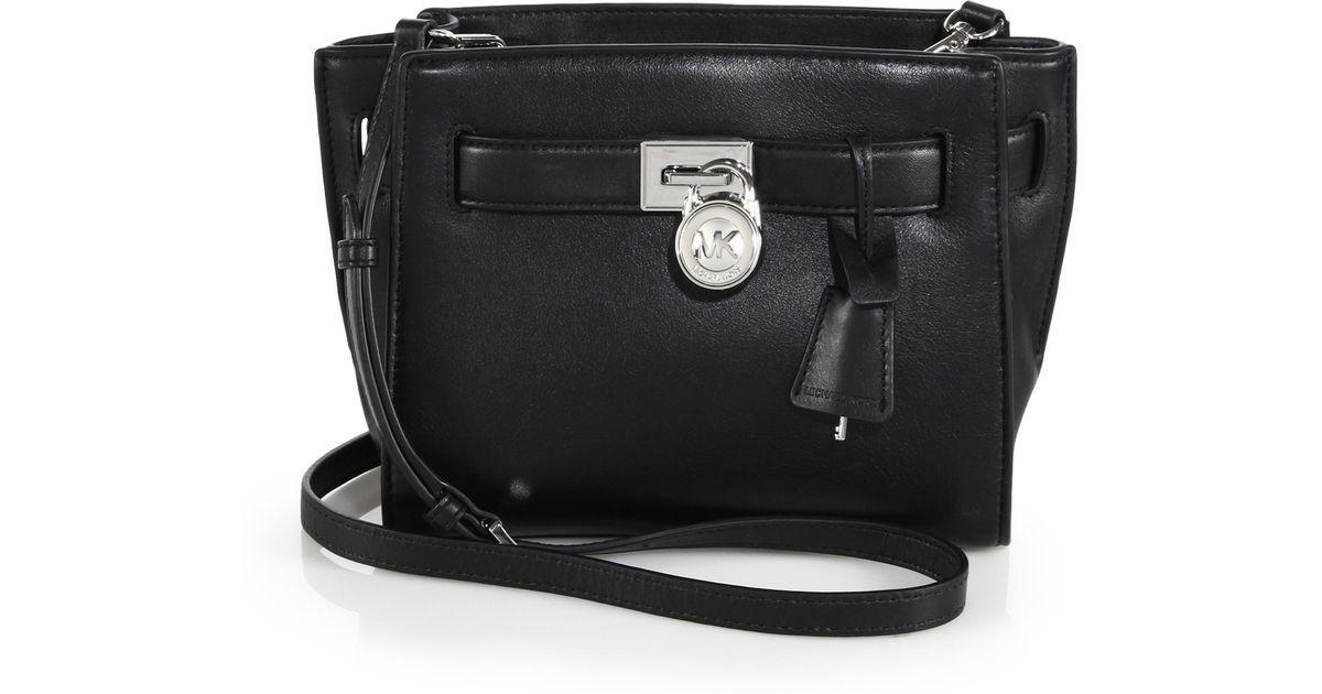 7b2593d20db7 MICHAEL Michael Kors Hamilton Traveler Messenger Bag in Black - Lyst