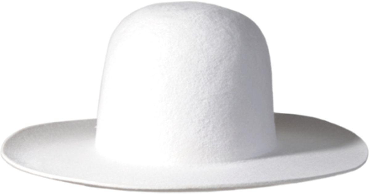 Lyst - Westerlind Winter Felt Hat - White in White 028ac455c7b