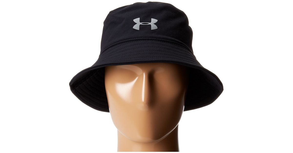 5e16c1a4644 Lyst Under Armour Ua Pack It Bucket Hat In Black For Men
