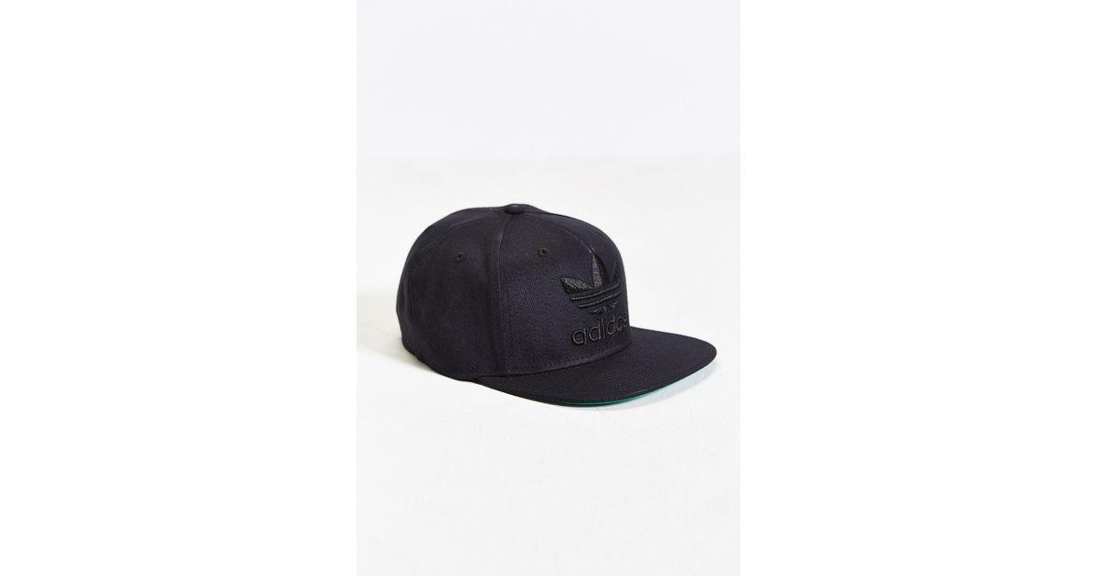 0116960509a Lyst - adidas Originals Thrasher Ii Snapback Hat in Black for Men