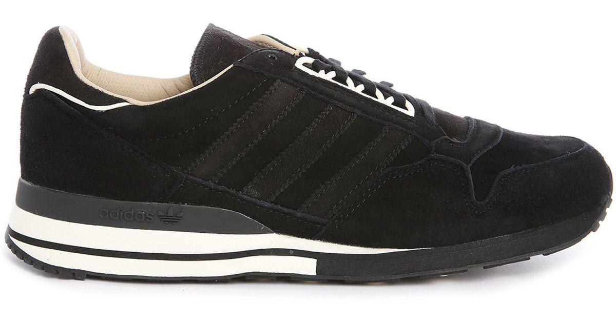 adidas originals zx 500 og made in germany black leather. Black Bedroom Furniture Sets. Home Design Ideas