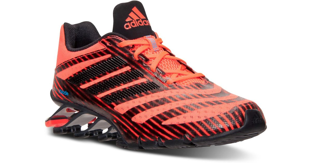 hot sale online 21436 f7a58 ... coupon for lyst adidas mens springblade ignite running sneakers from  finish line in red for men