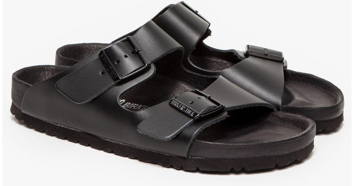 7662a4f50fc Lyst - Birkenstock Monterey Black Leather in Black