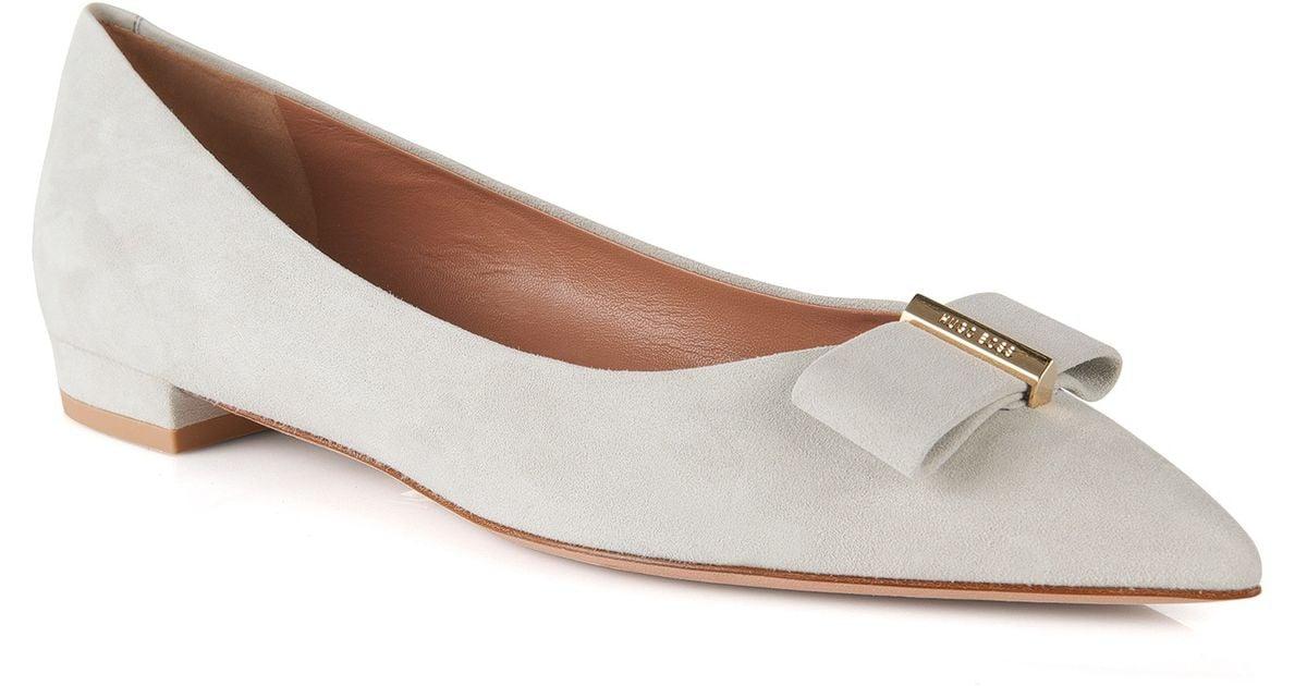 Shoppaa NLY Shoes Bow Ballerina - Musta | Flats - Nelly.com