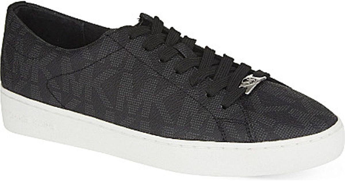 2f7c6633df49 MICHAEL Michael Kors Keaton Lace-up Trainers in Black - Lyst