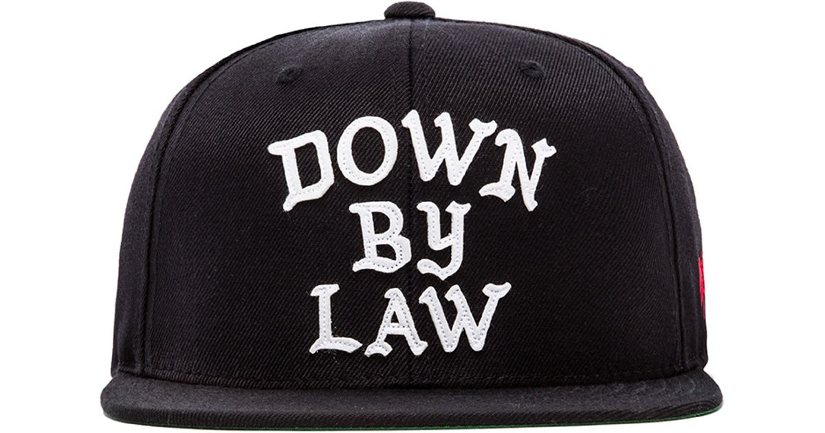 53f5c81fe7a Lyst - SSUR Down By Law Wrap Snapback in Black for Men