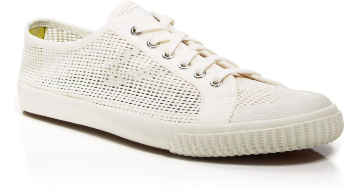 Tretorn Tournament Net Sneakers In White For Men Snow