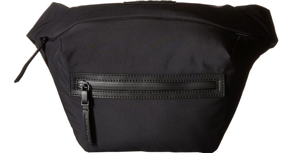 Lyst - Y-3 Qasa Fanny Pack in Black for Men 23c4adf419fff