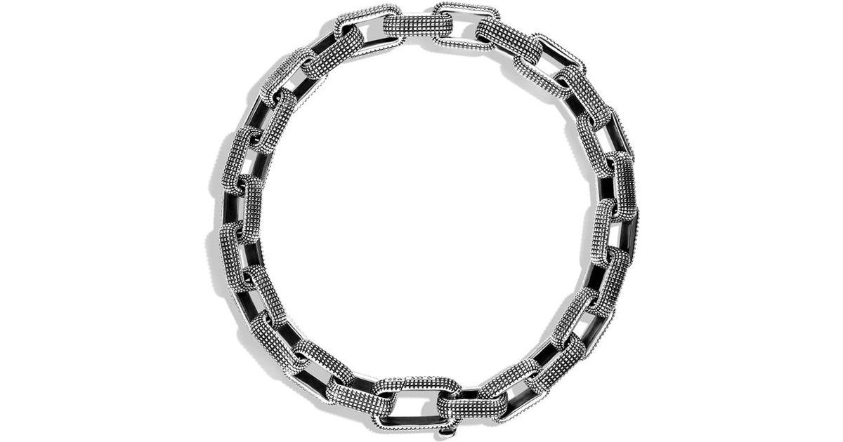 Konstantino Mens Sterling Silver Mini-Link Bracelet VFBHEOUHP
