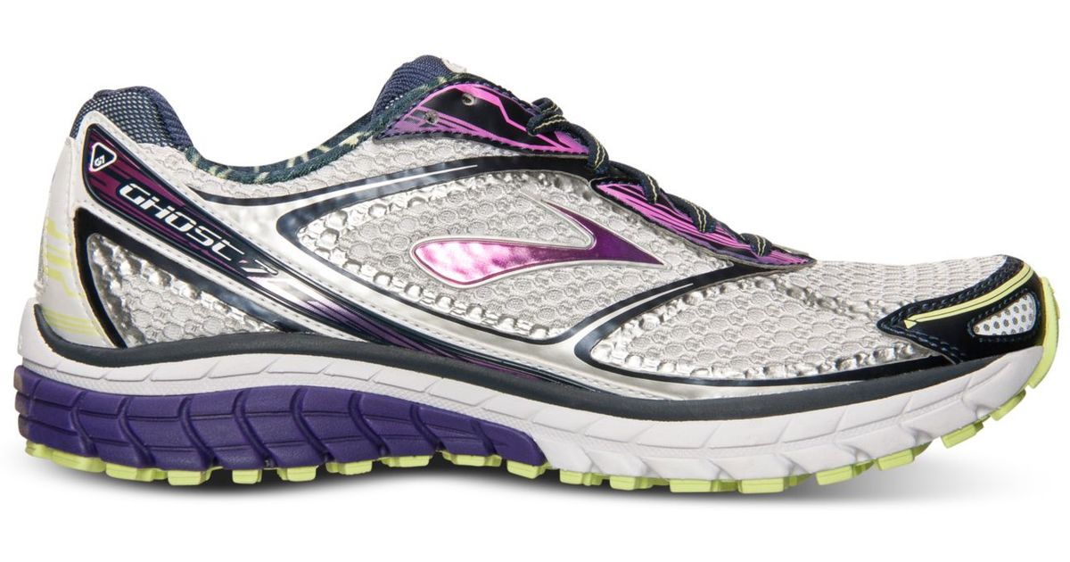 fdc295cce93 Lyst - Brooks Womens Ghost 7 Running Sneakers From Finish Line in Purple