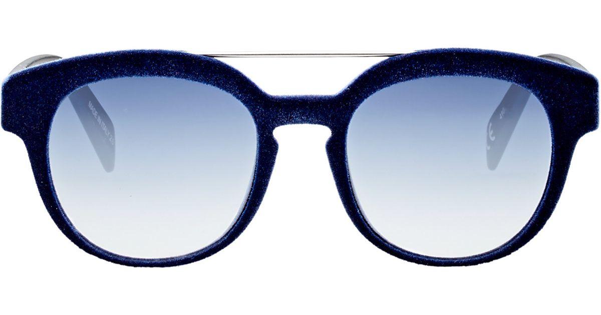 5514711a6e2f Italia Independent I-plastik Sunglasses in Blue for Men - Lyst