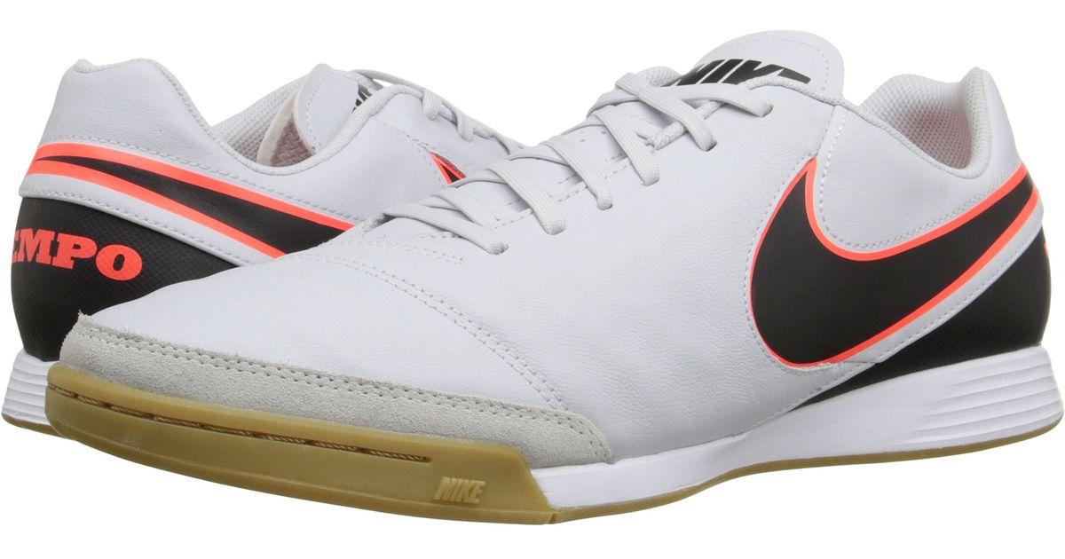 a61f760ed221 Lyst - Nike Tiempo Genio Ii Leather Ic in Black