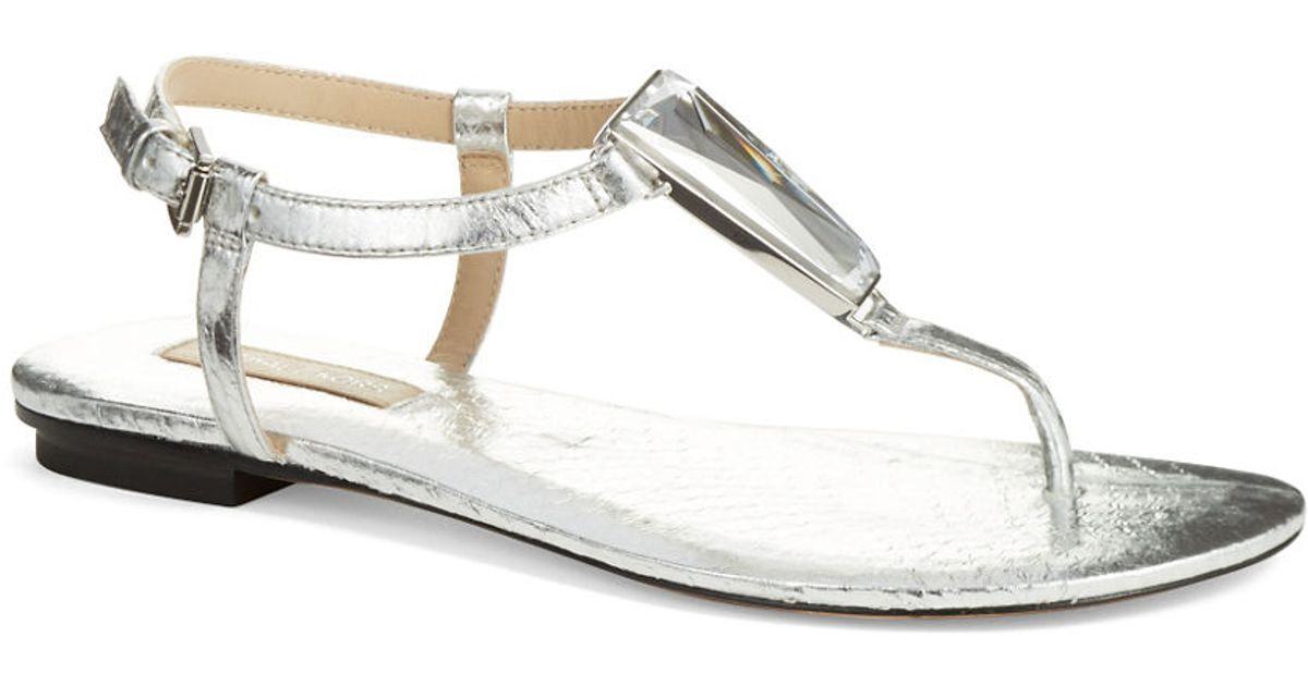 michael kors silver sandals - 28 images - michael michael ...