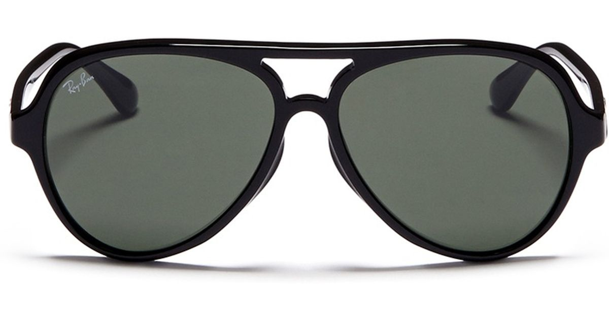 01f7350c1f Lyst - Ray-Ban Acetate Aviator Sunglasses in Black for Men