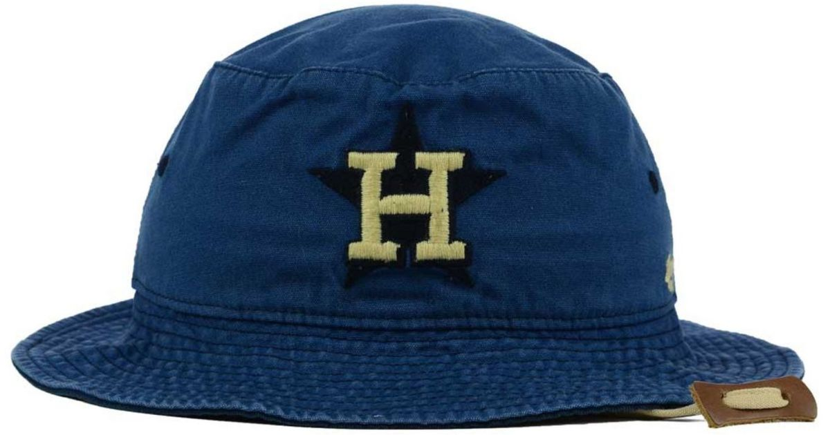 promo code cc2d6 17fdc 47 Brand Houston Astros Fever Dog Bucket Hat in Blue - Lyst