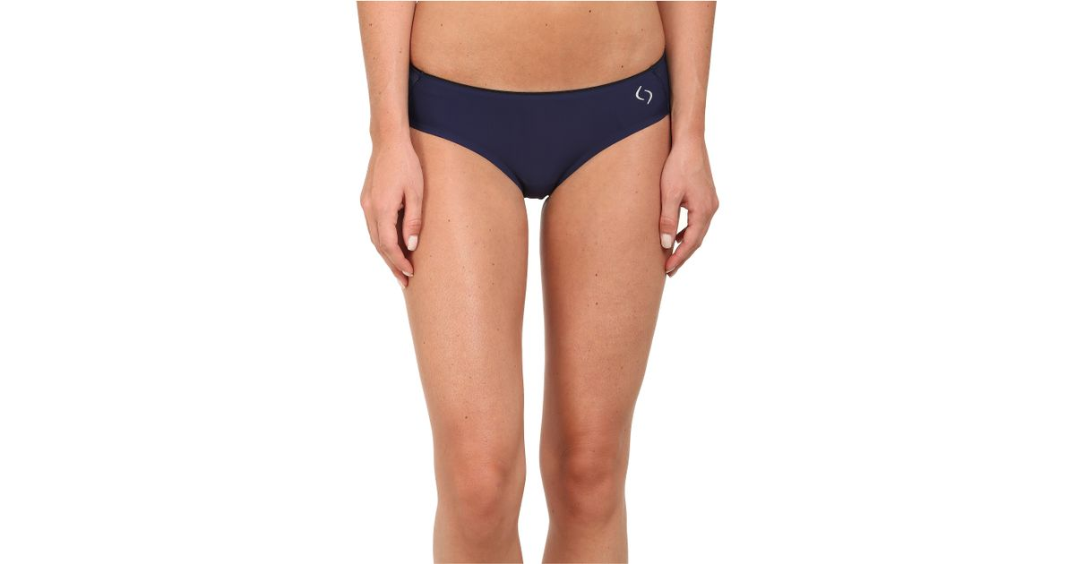 moving  fort workout bikini in blue navy lyst