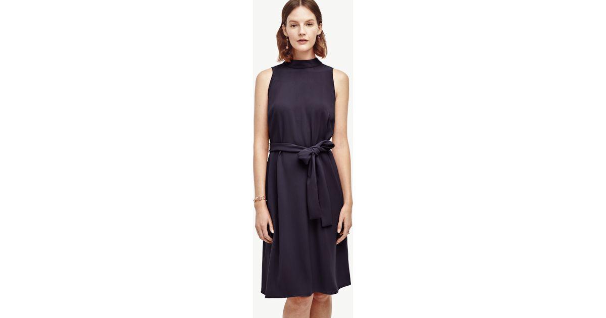 belted dress in black lyst