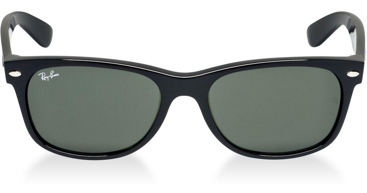 993359fe53d2c Lyst - Ray-Ban Rb2132 55 New Wayfarer in Black for Men