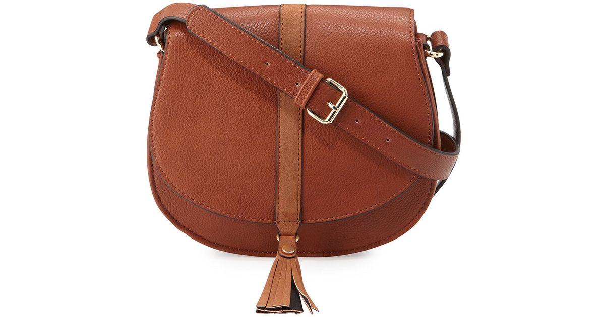 Neiman Marcus Chloe Tassel Satchel Bag