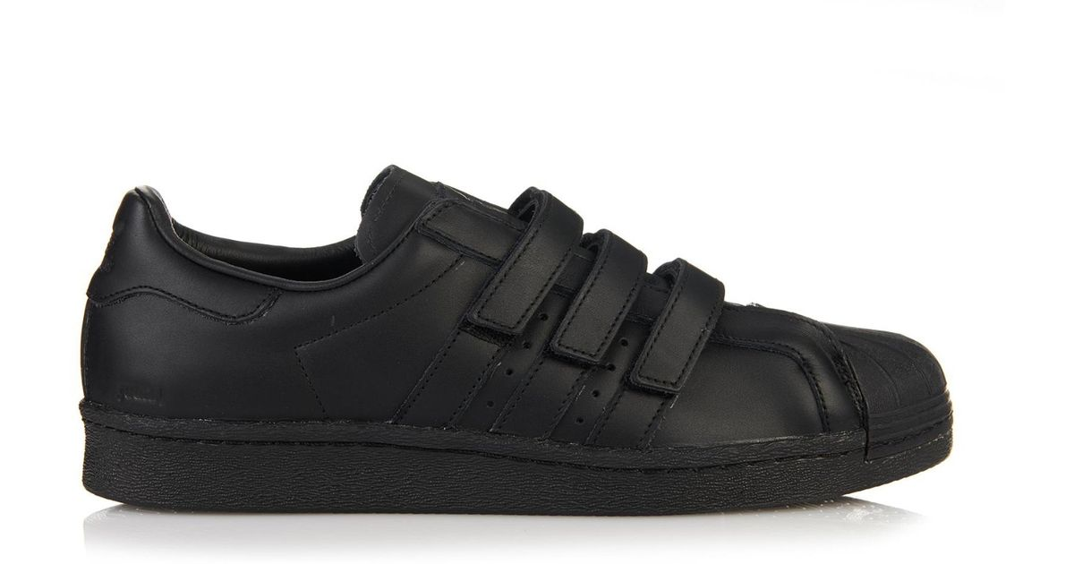 Lyst Adidas Leather en Low Top Trainers en Negro Negro para Adidas Hombres 653fccd - hotlink.pw
