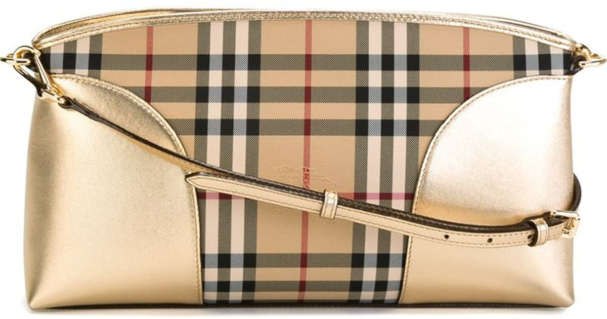 0a9dd7c87ce Lyst - Burberry  chichester  Cross Body Bag in Natural