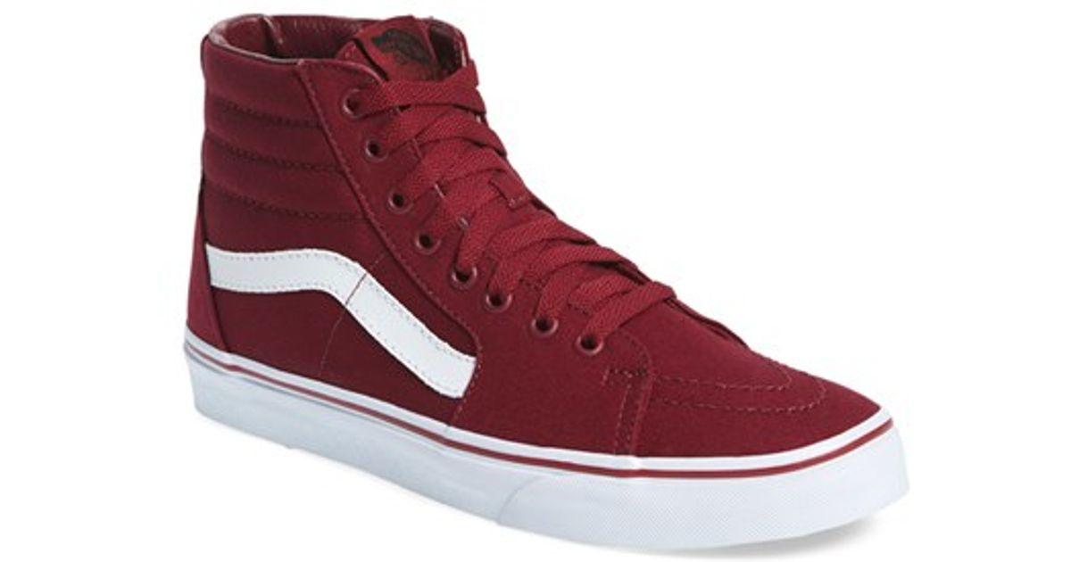 Lyst - Vans  sk8-hi  Sneaker for Men 21d6f95ea12c
