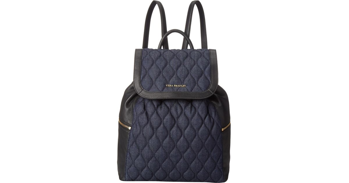 fd4ac68928 Lyst - Vera Bradley Amy Backpack in Blue
