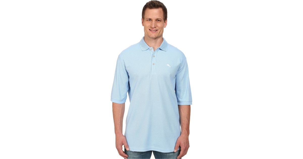 Tommy Bahama Big Tall Emfielder Polo Shirt In Blue For