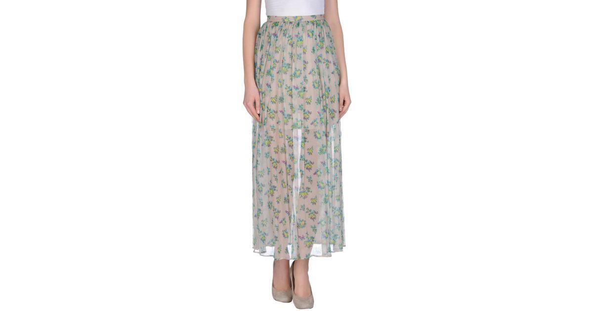 Long Beige Skirt 2