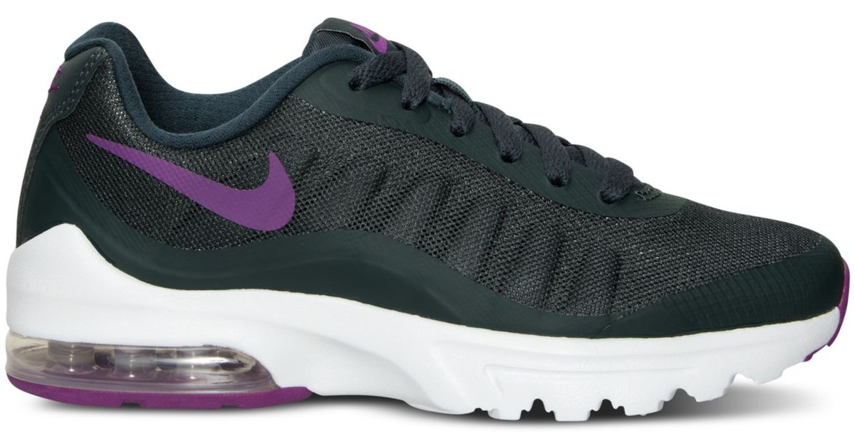 new style bd8a5 37a8c Lyst - Nike Women s Air Max Invigor Running Sneakers From Finish Line in  Purple