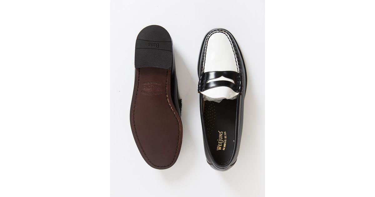 Black Penny Loafer Shoes