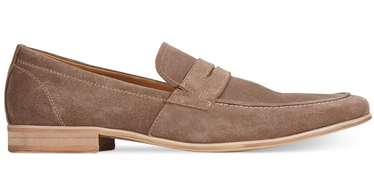 9ed5a26b154 Lyst - Kenneth Cole Reaction Getting Tipsy Penny Loafers in Natural for Men