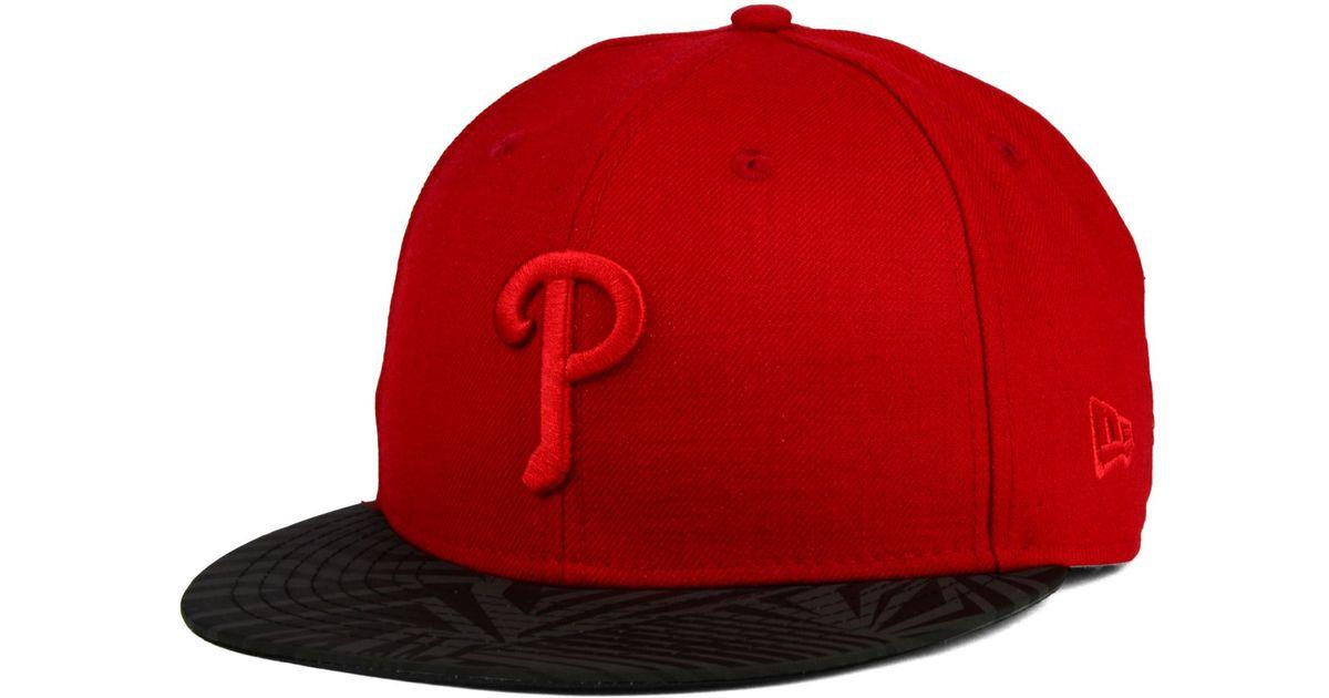 b74b974ebadfa9 ... sweden lyst ktz philadelphia phillies reliner 59fifty cap in red for men  9154e 9abce