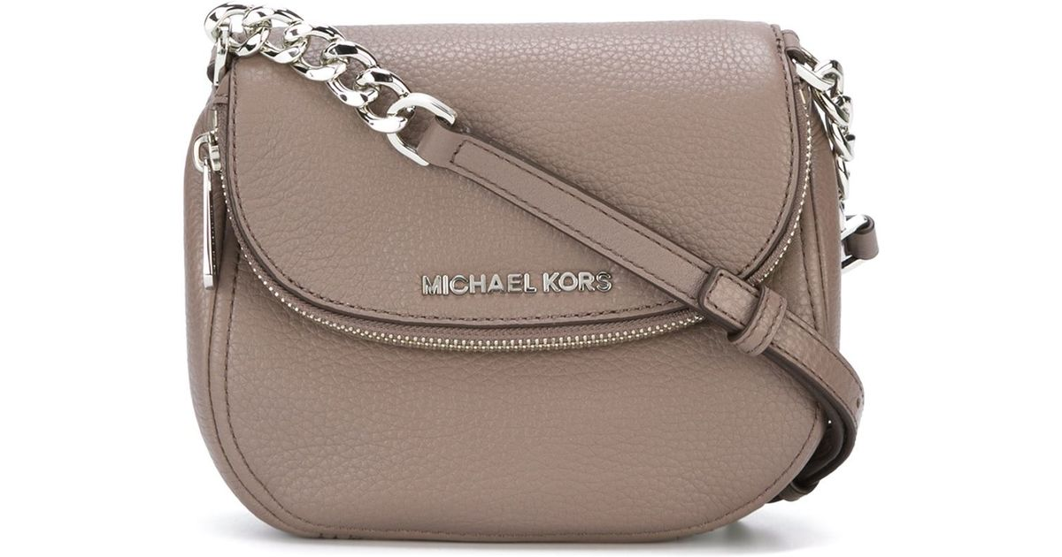 9ab75d34f07ecc MICHAEL Michael Kors 'bedford' Crossbody Bag in Pink - Lyst