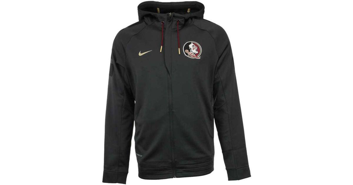 Nike Men S Florida State Seminoles Elite Stripe Full Zip