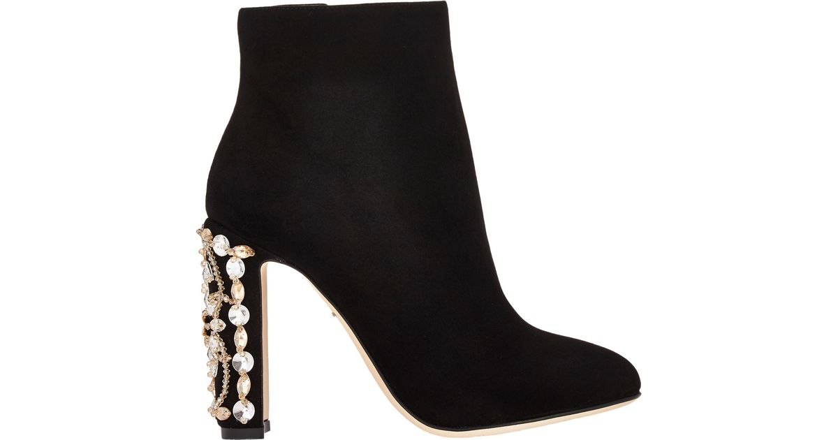 105 Lace Ankle Boots by Dolce & Gabbana