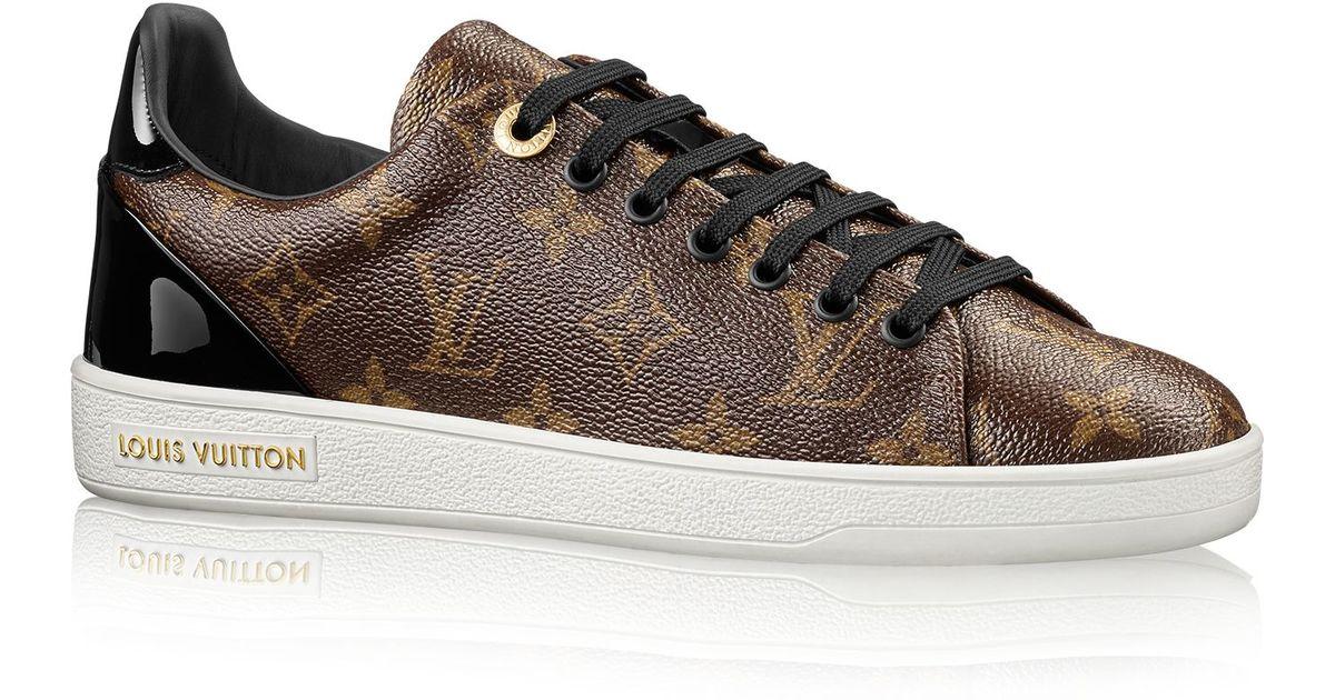 Louis Vuitton Frontrow Sneaker In Brown Lyst