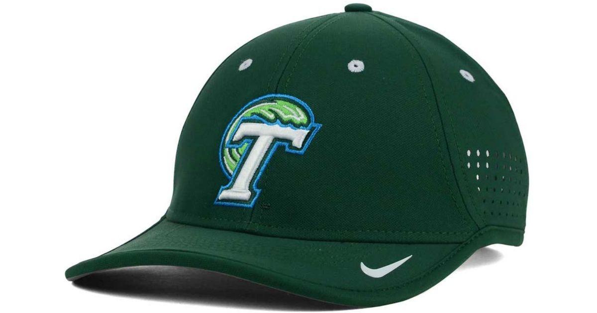 Lyst - Nike Tulane Green Wave Ncaa Coaches Cap in Green for Men 01e75e2294a