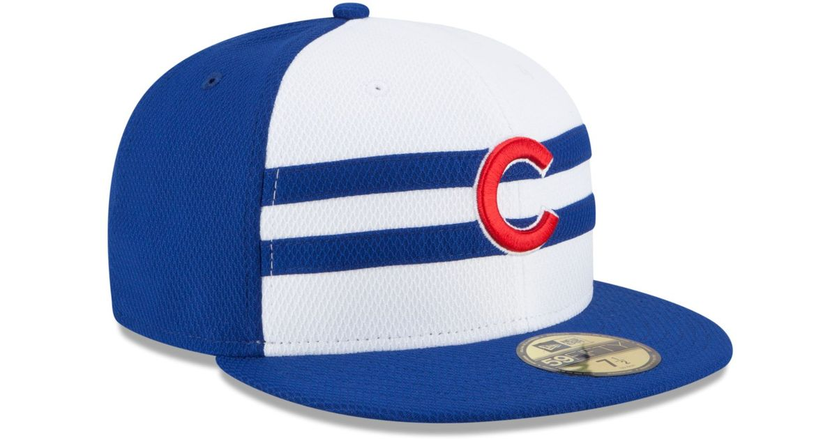 Lyst - Ktz Chicago Cubs 2015 All Star Game 59Fifty Cap in Blue for Men ba71e73f93bf