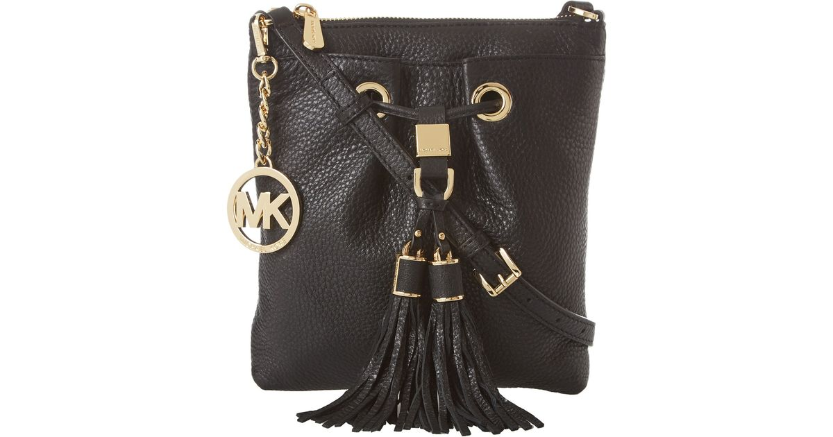 michael kors tote with chain strap camden black crossbody bag michael kors