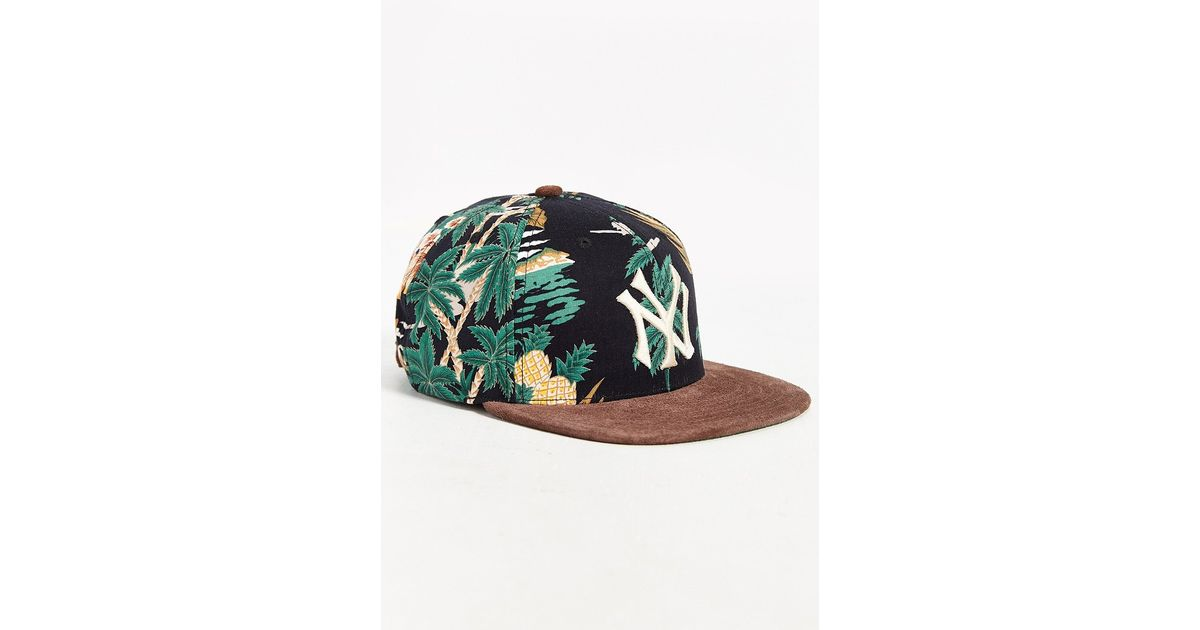 8619212b2d5 ... best price lyst american needle haven new york yankees strapback hat in  green for men 10b2e