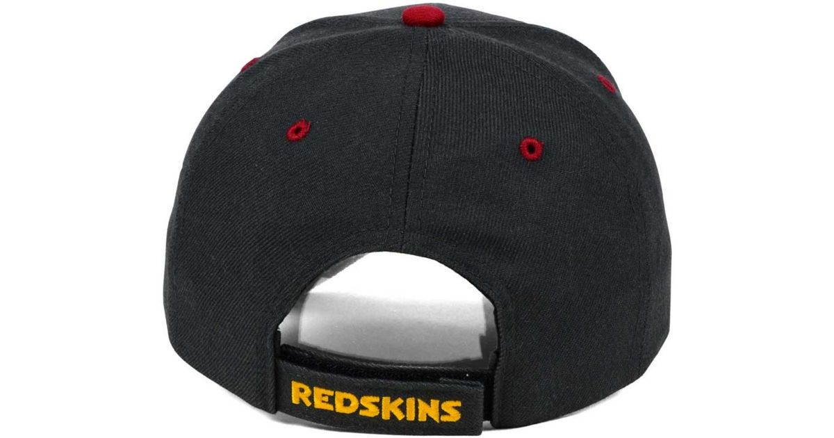 size 40 a9619 158eb ... clearance lyst 47 brand washington redskins audible mvp cap in gray for  men 00c46 df3b5