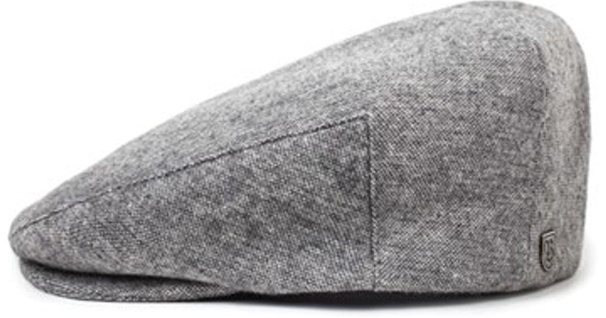 Lyst - Brixton  hooligan  Wool Driving Cap in Gray for Men 3a6881b7d96